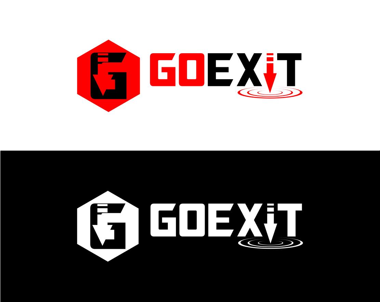 Logo Design by Agus Martoyo - Entry No. 168 in the Logo Design Contest GoExit Logo Design.
