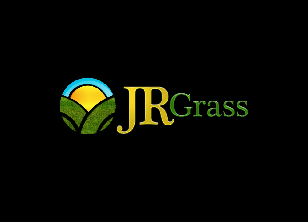 Logo Design by Private User - Entry No. 43 in the Logo Design Contest Inspiring Logo Design for JR Grass.