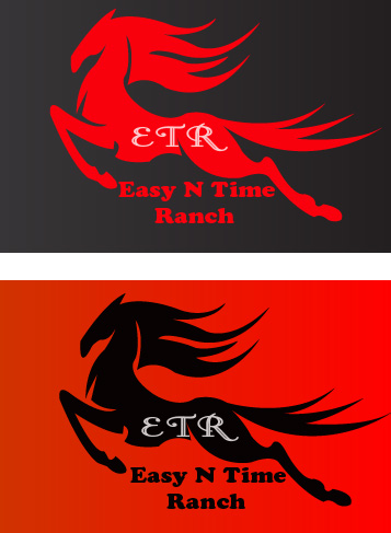 Logo Design by Bhaskar Singh - Entry No. 7 in the Logo Design Contest Artistic Logo Design for Easy N Time Ranch.
