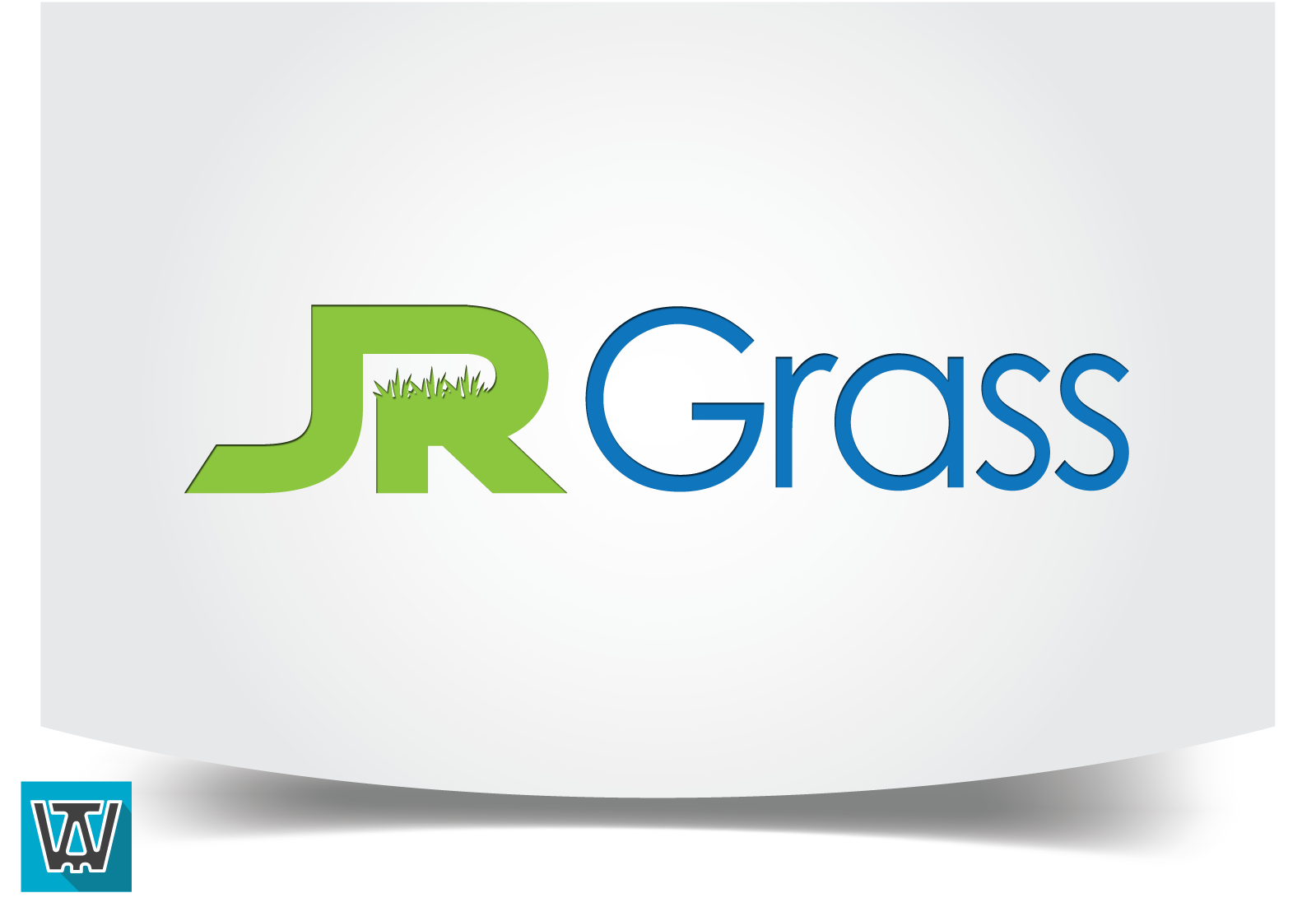 Logo Design by 354studio - Entry No. 48 in the Logo Design Contest Inspiring Logo Design for JR Grass.