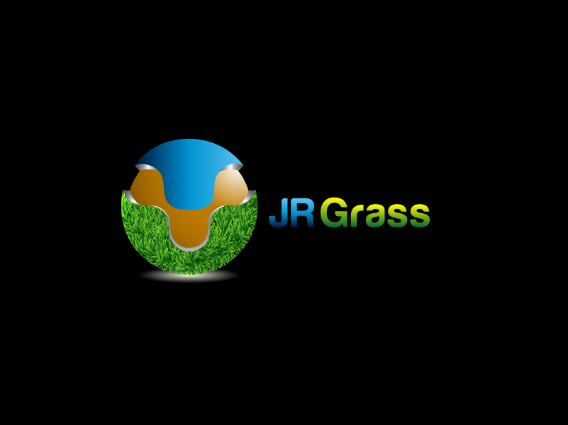 Logo Design by Private User - Entry No. 49 in the Logo Design Contest Inspiring Logo Design for JR Grass.