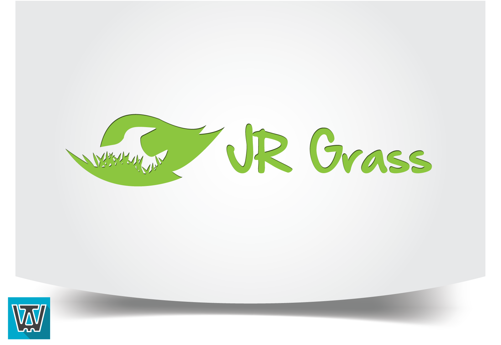 Logo Design by 354studio - Entry No. 50 in the Logo Design Contest Inspiring Logo Design for JR Grass.