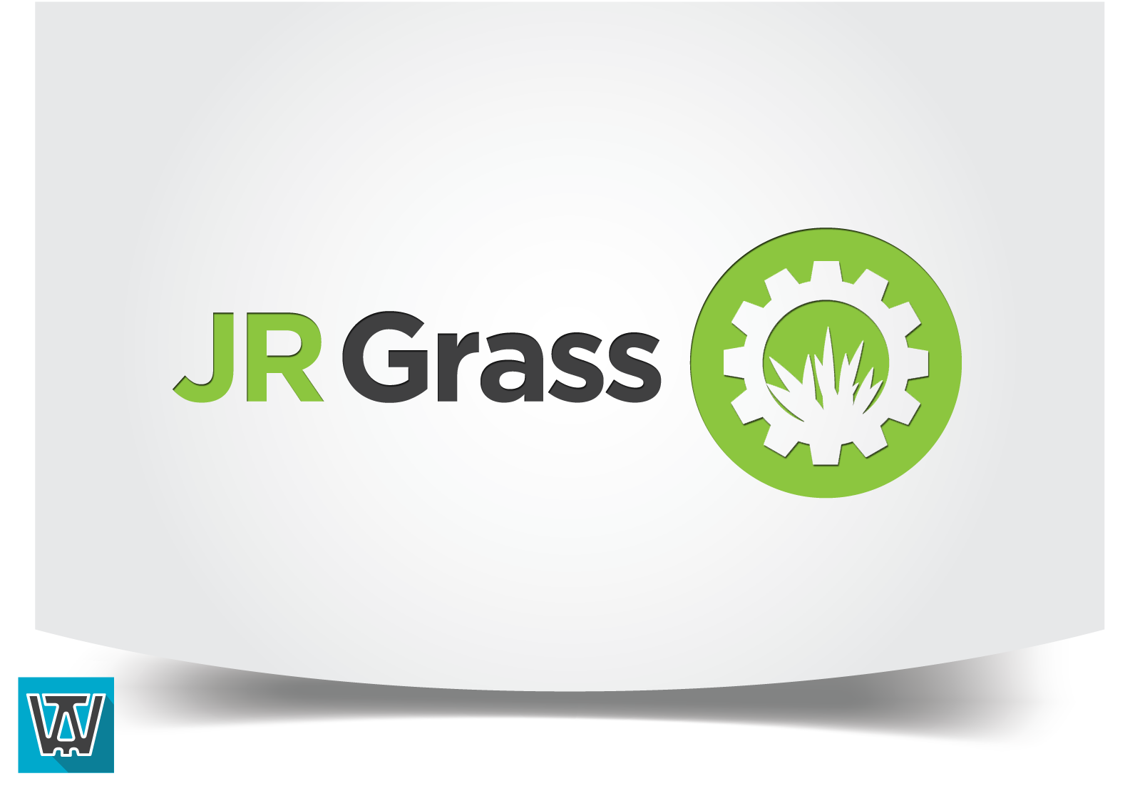 Logo Design by 354studio - Entry No. 51 in the Logo Design Contest Inspiring Logo Design for JR Grass.