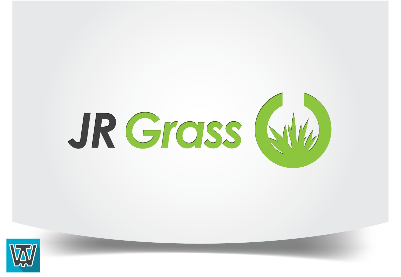 Logo Design by 354studio - Entry No. 52 in the Logo Design Contest Inspiring Logo Design for JR Grass.