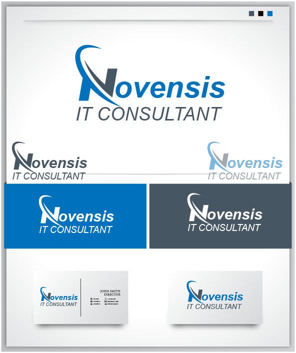 Logo Design by Private User - Entry No. 127 in the Logo Design Contest Novensis Logo Design.