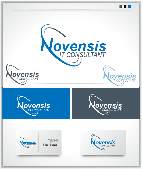 Logo Design by Private User - Entry No. 129 in the Logo Design Contest Novensis Logo Design.