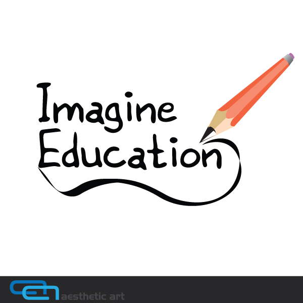 Logo Design by aesthetic-art - Entry No. 144 in the Logo Design Contest Imagine Education.