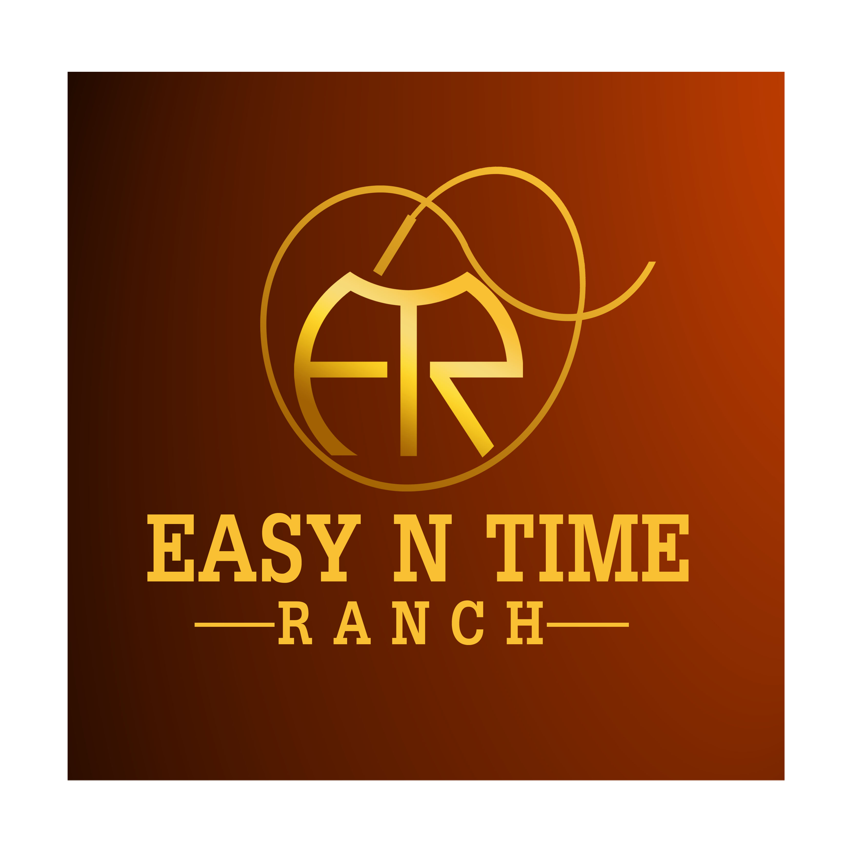 Logo Design by Allan Esclamado - Entry No. 9 in the Logo Design Contest Artistic Logo Design for Easy N Time Ranch.
