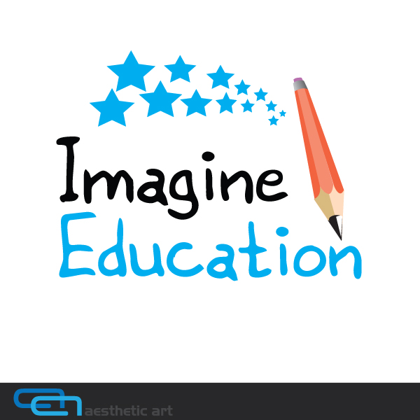 Logo Design by aesthetic-art - Entry No. 145 in the Logo Design Contest Imagine Education.