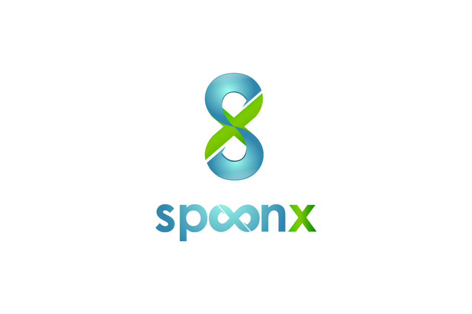 Logo Design by Top Elite - Entry No. 55 in the Logo Design Contest Captivating Logo Design for SpoonX.