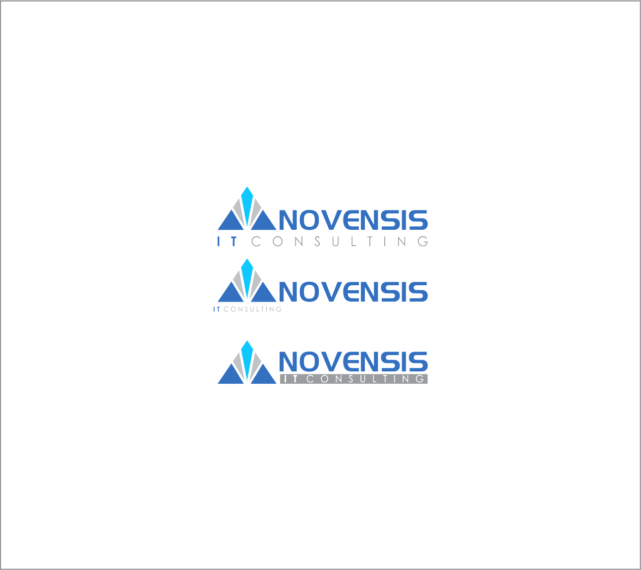 Logo Design by Armada Jamaluddin - Entry No. 138 in the Logo Design Contest Novensis Logo Design.