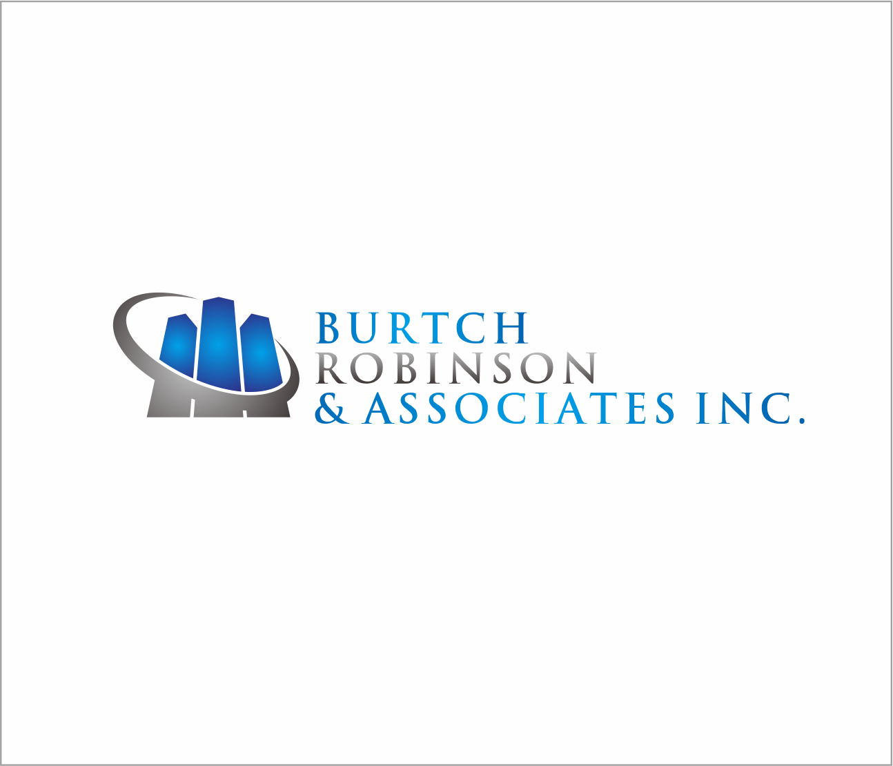 Logo Design by Armada Jamaluddin - Entry No. 28 in the Logo Design Contest Unique Logo Design Wanted for Burtch, Robinson & Associates Inc..