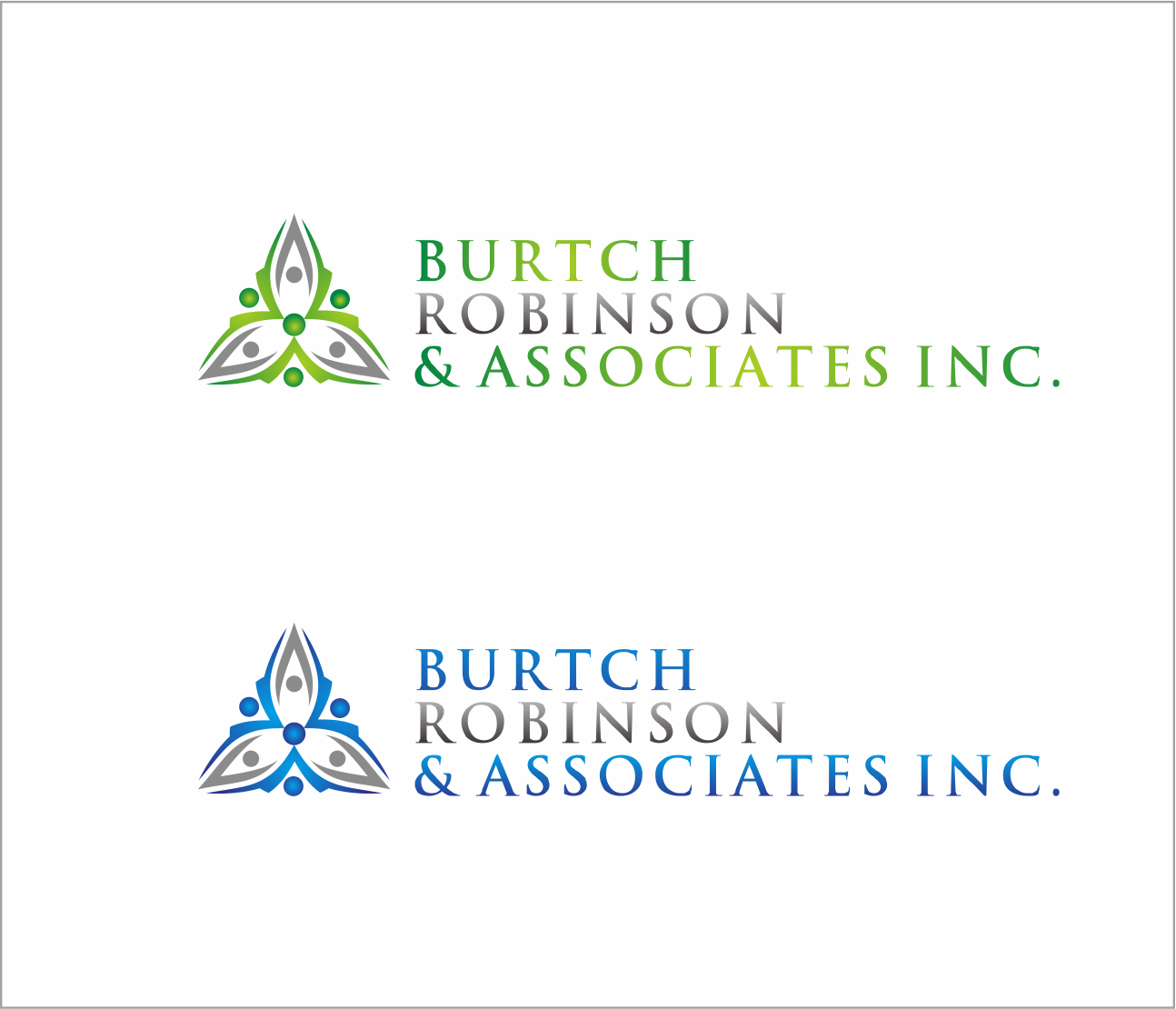 Logo Design by Armada Jamaluddin - Entry No. 30 in the Logo Design Contest Unique Logo Design Wanted for Burtch, Robinson & Associates Inc..