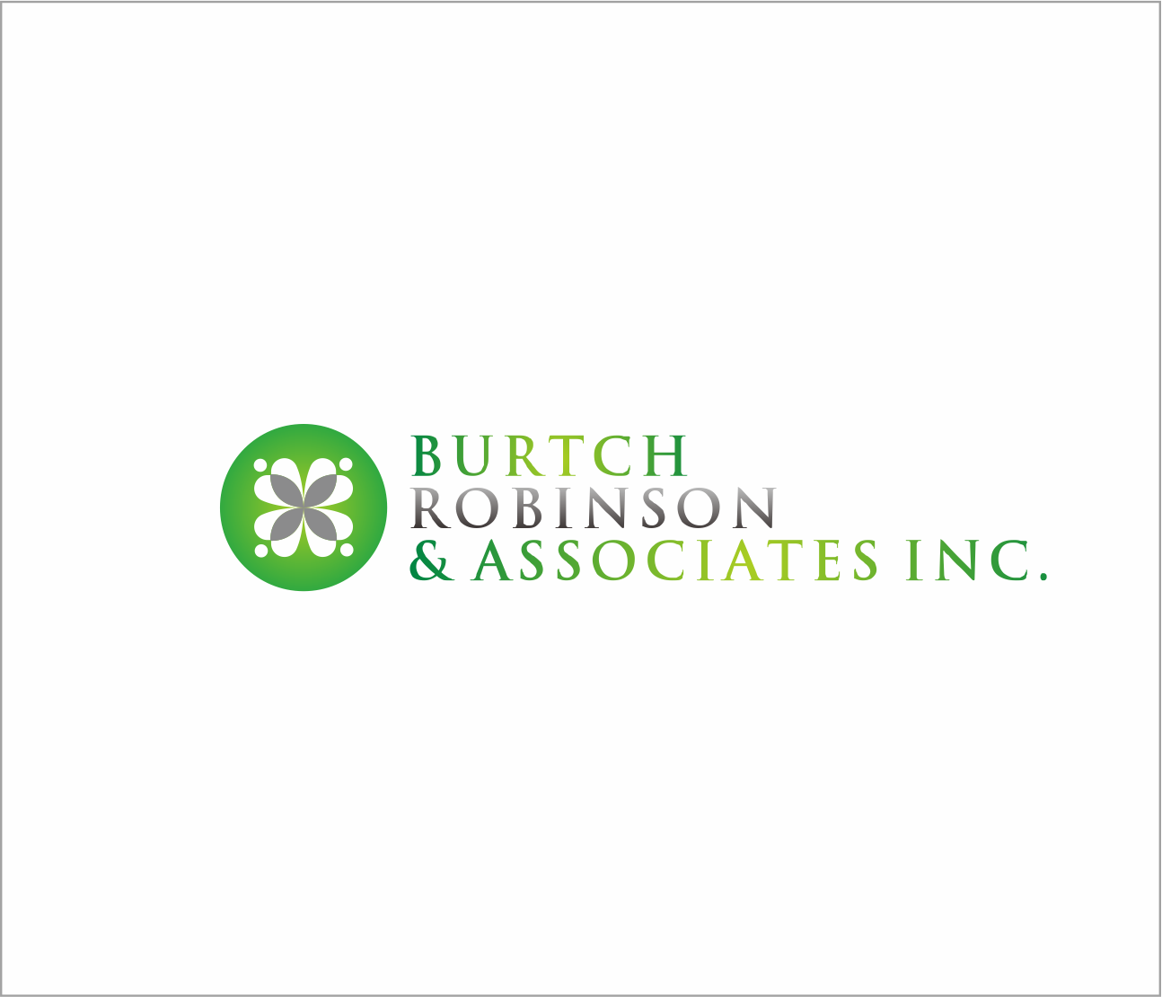 Logo Design by Armada Jamaluddin - Entry No. 31 in the Logo Design Contest Unique Logo Design Wanted for Burtch, Robinson & Associates Inc..