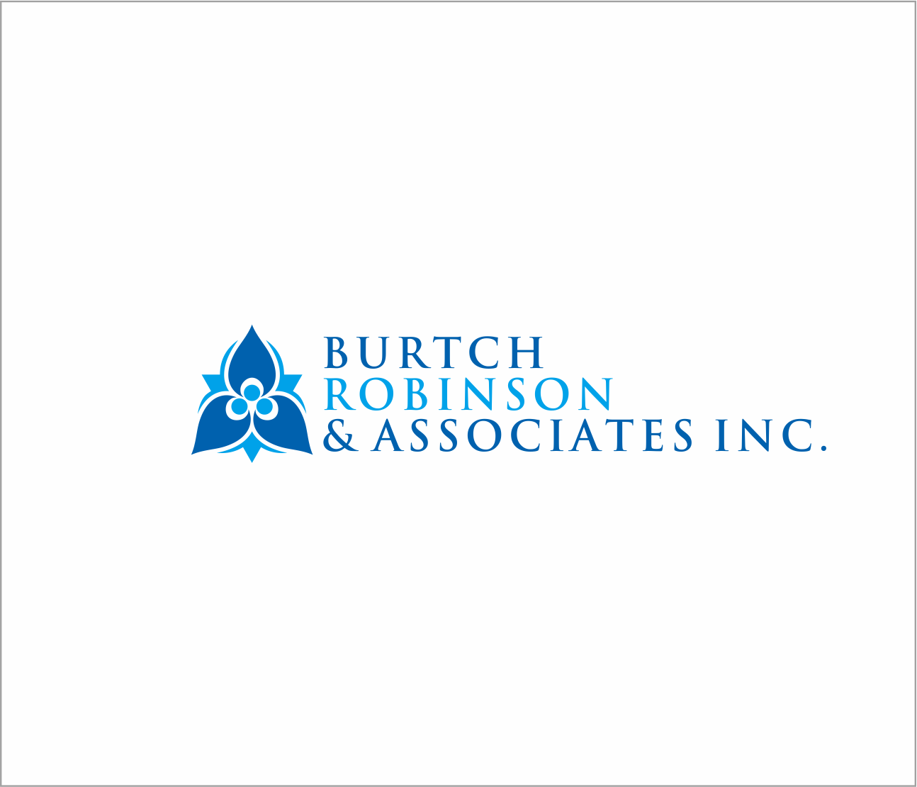 Logo Design by Armada Jamaluddin - Entry No. 32 in the Logo Design Contest Unique Logo Design Wanted for Burtch, Robinson & Associates Inc..