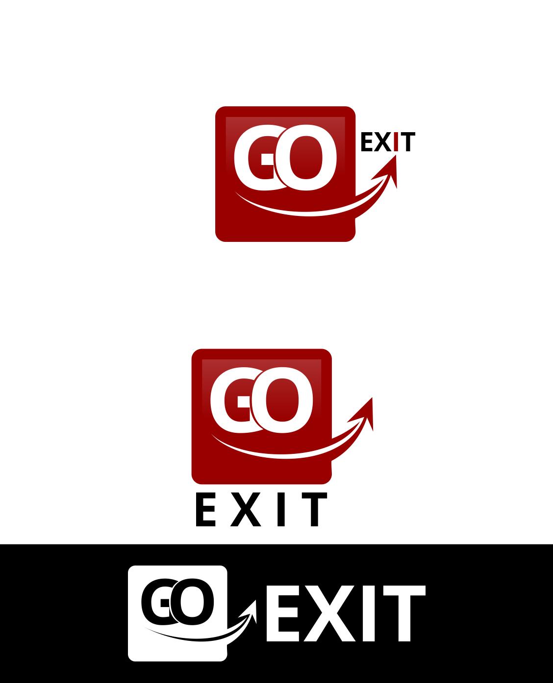 Logo Design by Agus Martoyo - Entry No. 182 in the Logo Design Contest GoExit Logo Design.