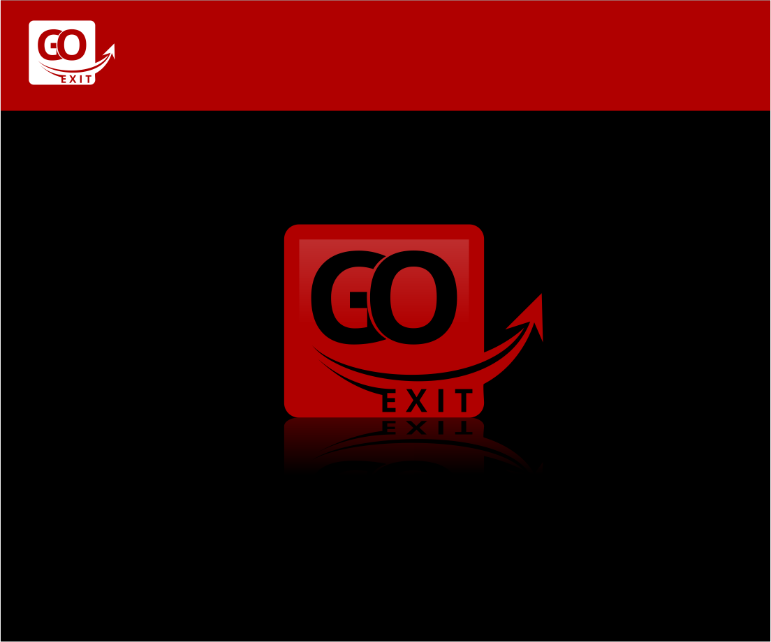 Logo Design by Agus Martoyo - Entry No. 183 in the Logo Design Contest GoExit Logo Design.
