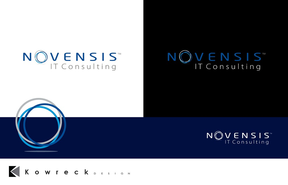 Logo Design by kowreck - Entry No. 149 in the Logo Design Contest Novensis Logo Design.