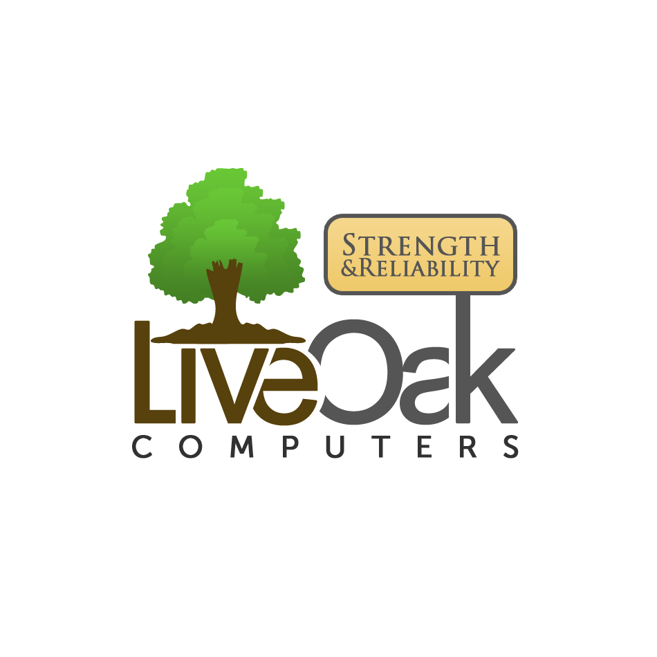 Logo Design by Private User - Entry No. 54 in the Logo Design Contest Live Oak Computers.