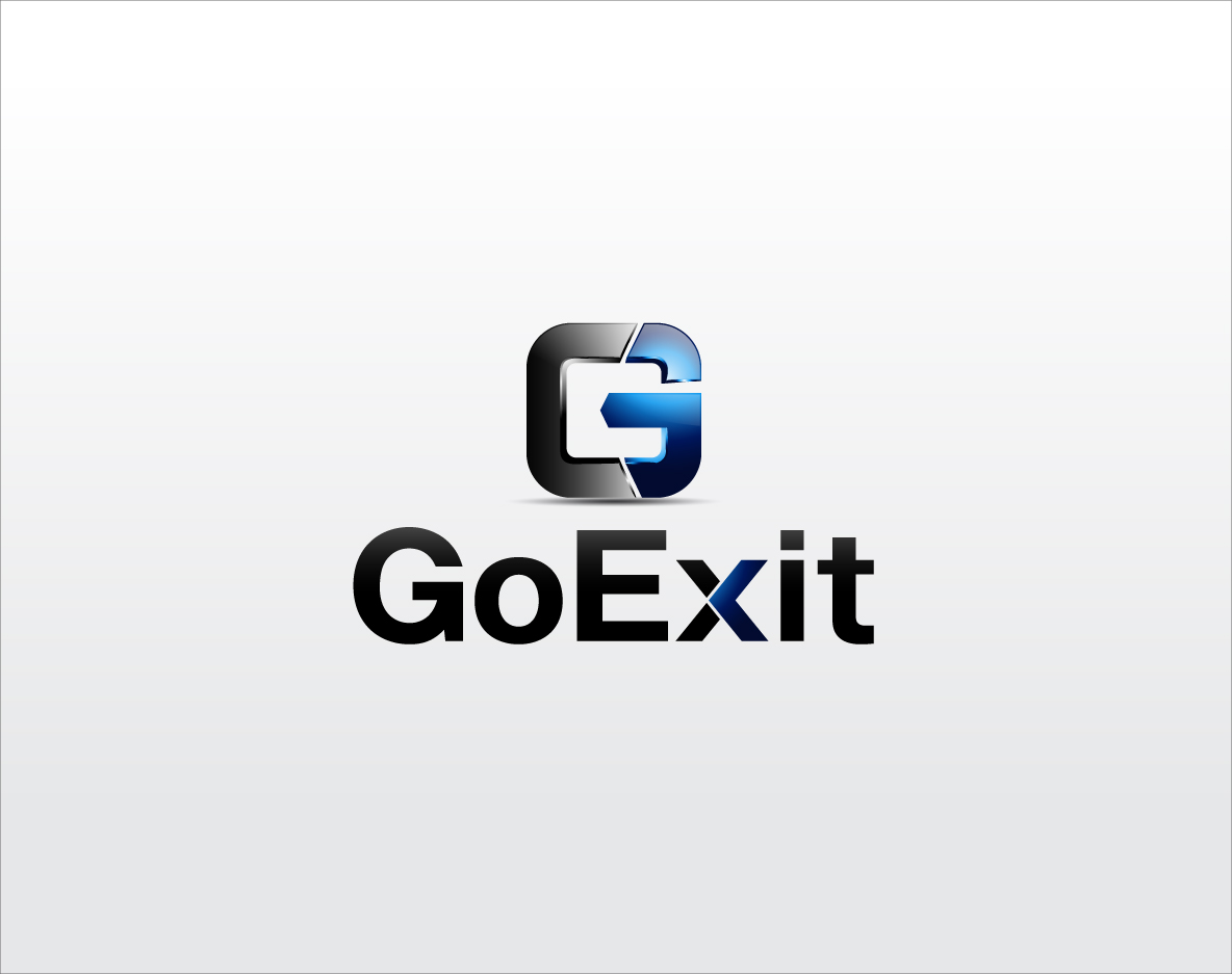 Logo Design by zoiDesign - Entry No. 190 in the Logo Design Contest GoExit Logo Design.