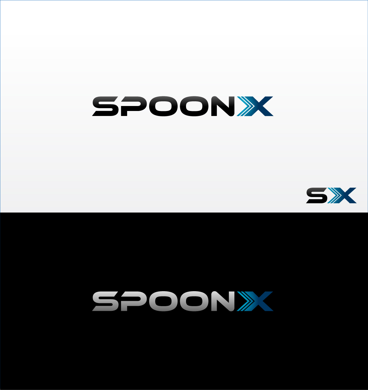 Logo Design by zoiDesign - Entry No. 66 in the Logo Design Contest Captivating Logo Design for SpoonX.