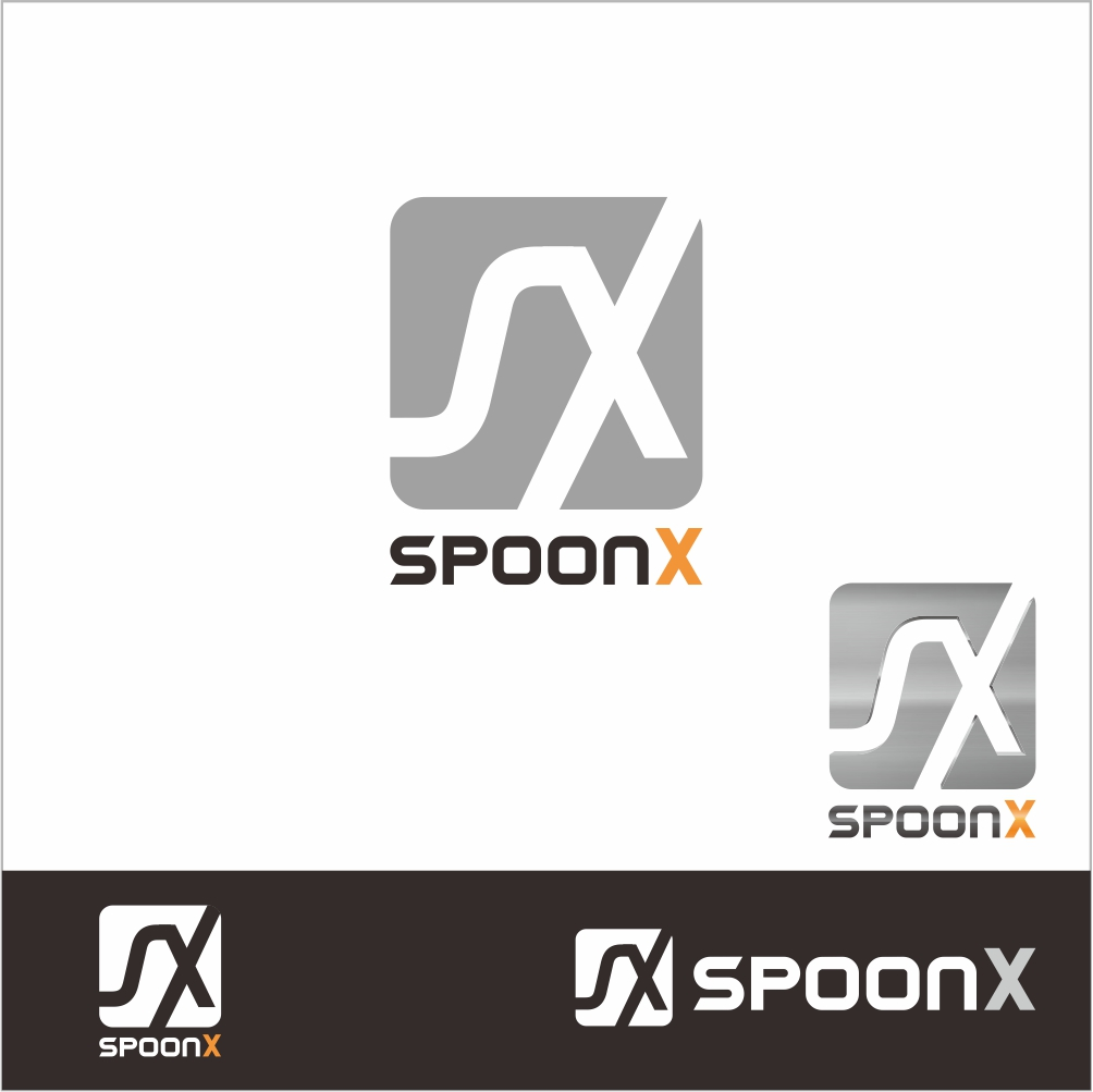 Logo Design by PJD - Entry No. 67 in the Logo Design Contest Captivating Logo Design for SpoonX.