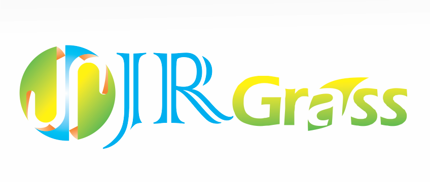 Logo Design by Mokhamad Ngabduloh - Entry No. 59 in the Logo Design Contest Inspiring Logo Design for JR Grass.