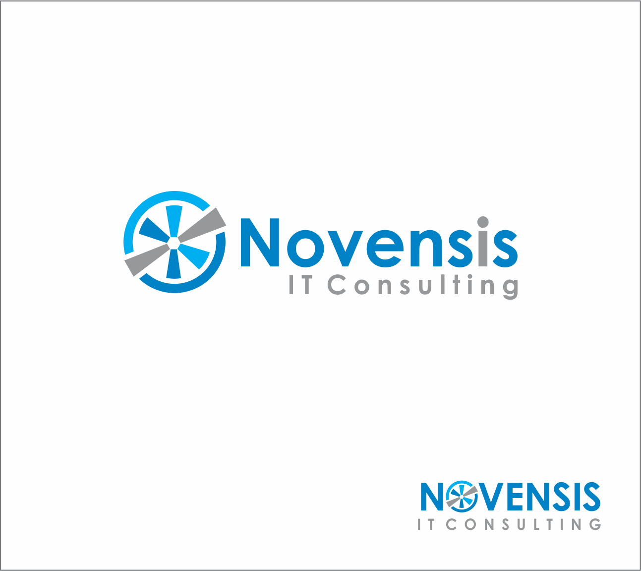 Logo Design by Armada Jamaluddin - Entry No. 159 in the Logo Design Contest Novensis Logo Design.