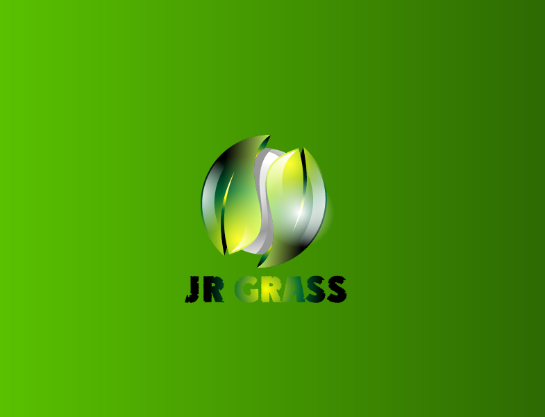 Logo Design by Private User - Entry No. 61 in the Logo Design Contest Inspiring Logo Design for JR Grass.
