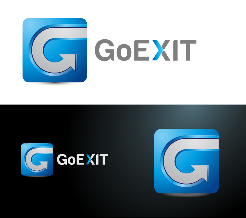 Logo Design by Private User - Entry No. 204 in the Logo Design Contest GoExit Logo Design.