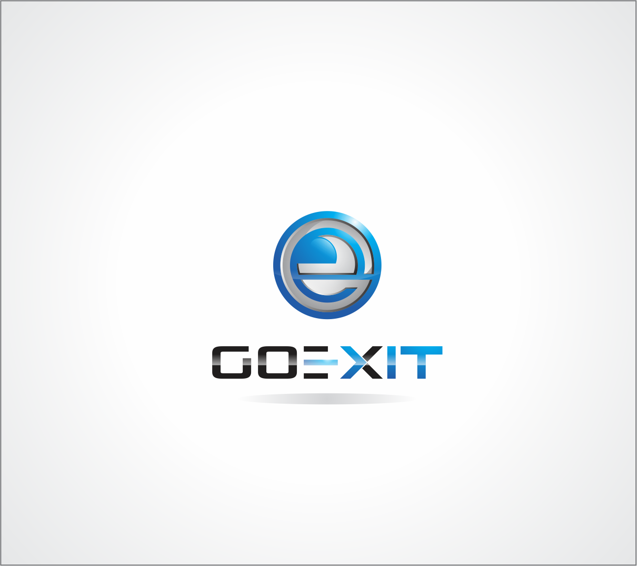 Logo Design by Armada Jamaluddin - Entry No. 207 in the Logo Design Contest GoExit Logo Design.