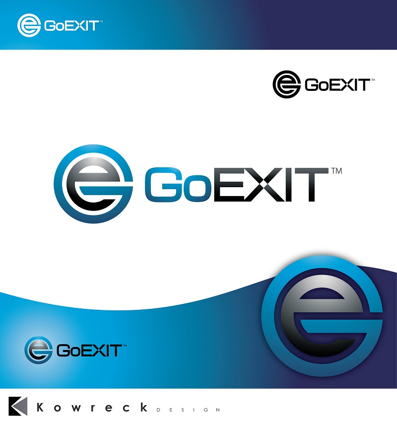 Logo Design by kowreck - Entry No. 209 in the Logo Design Contest GoExit Logo Design.