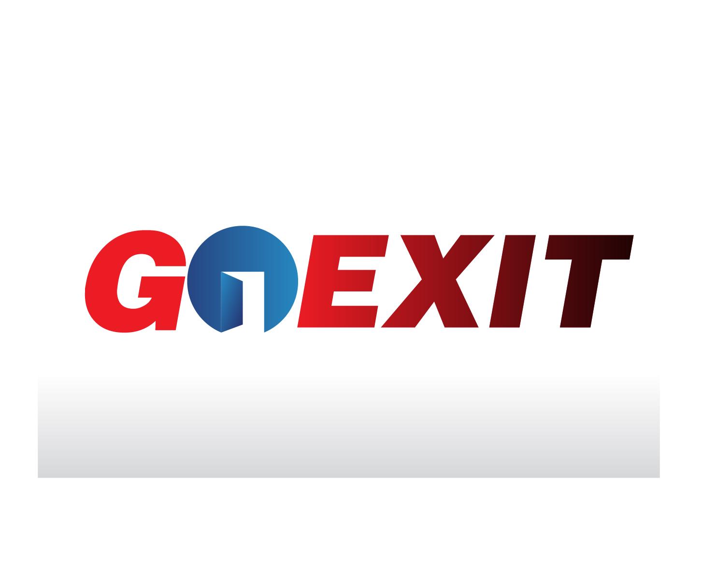Logo Design by demang - Entry No. 211 in the Logo Design Contest GoExit Logo Design.
