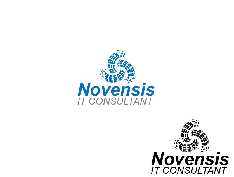 Logo Design by brands_in - Entry No. 163 in the Logo Design Contest Novensis Logo Design.