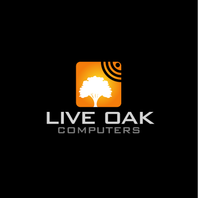 Logo Design by IM3D - Entry No. 55 in the Logo Design Contest Live Oak Computers.