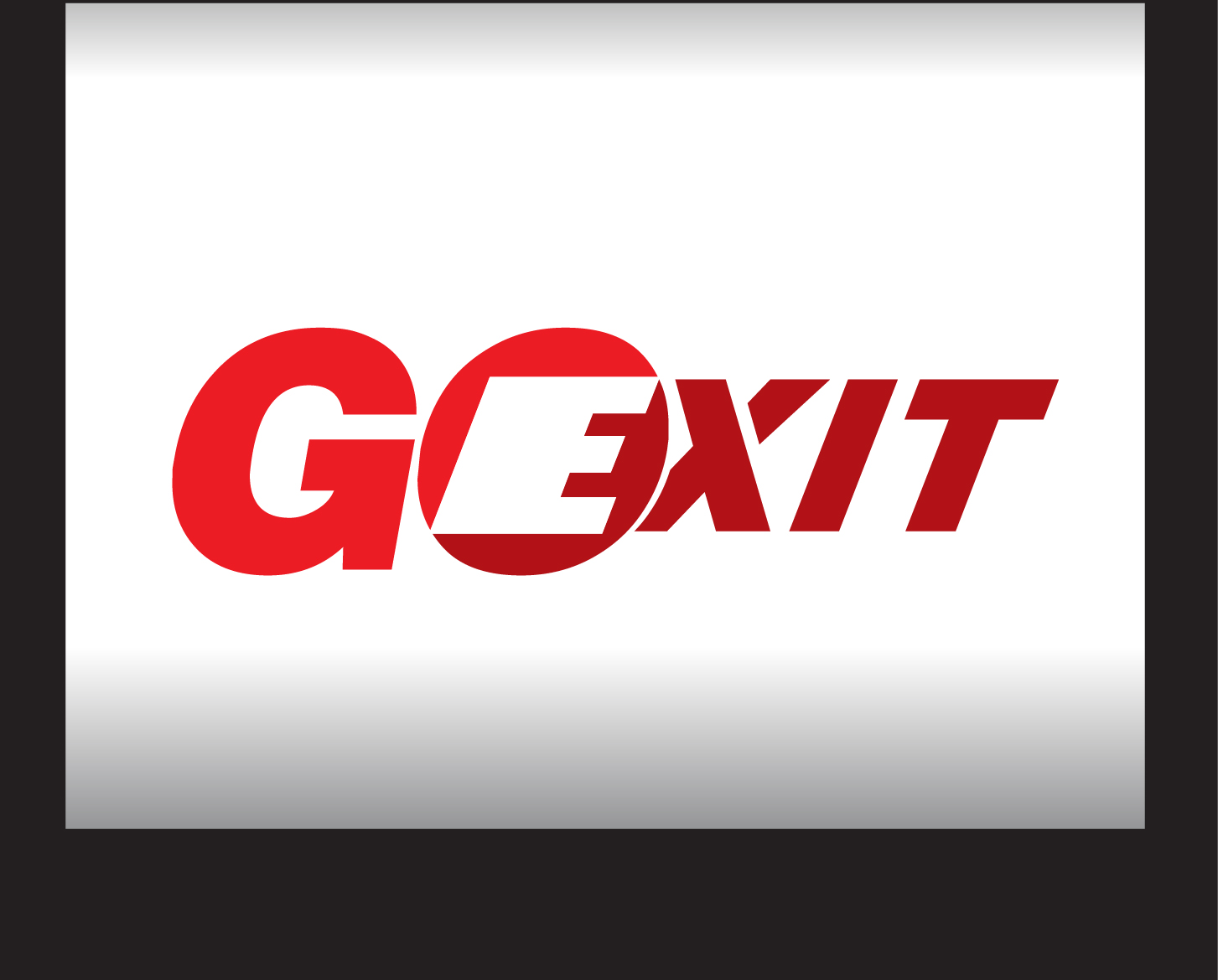 Logo Design by demang - Entry No. 213 in the Logo Design Contest GoExit Logo Design.