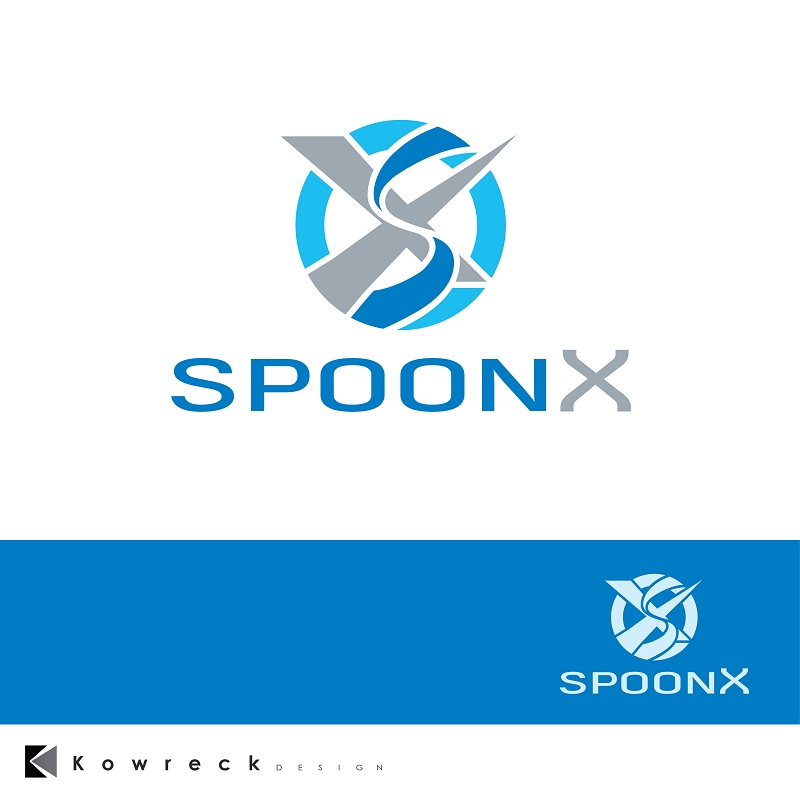 Logo Design by kowreck - Entry No. 96 in the Logo Design Contest Captivating Logo Design for SpoonX.