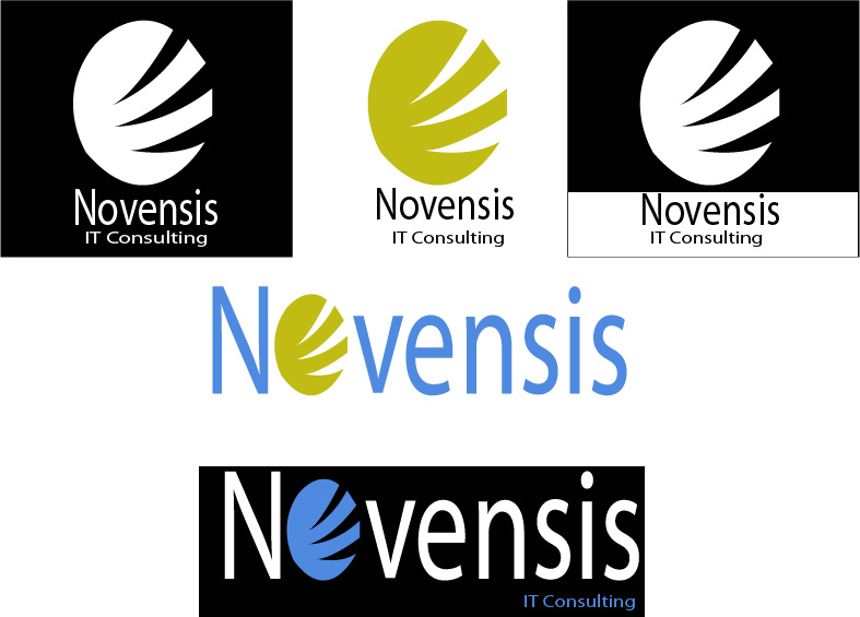 Logo Design by Bhaskar Singh - Entry No. 168 in the Logo Design Contest Novensis Logo Design.
