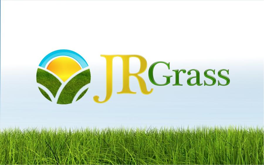 Logo Design by Private User - Entry No. 68 in the Logo Design Contest Inspiring Logo Design for JR Grass.