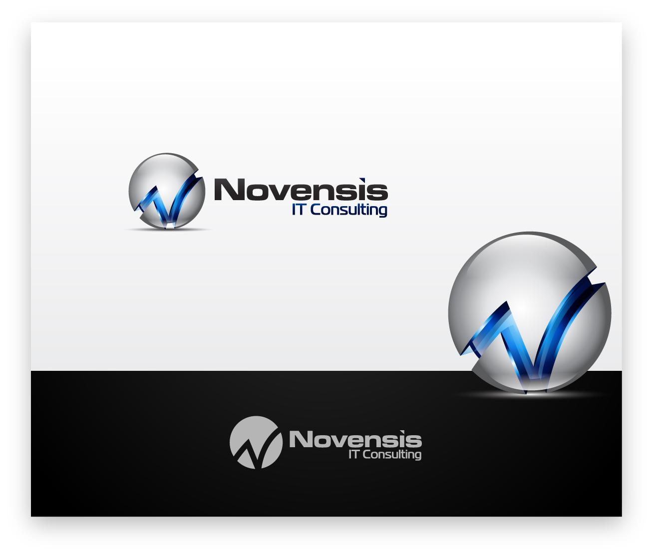 Logo Design by zoiDesign - Entry No. 171 in the Logo Design Contest Novensis Logo Design.