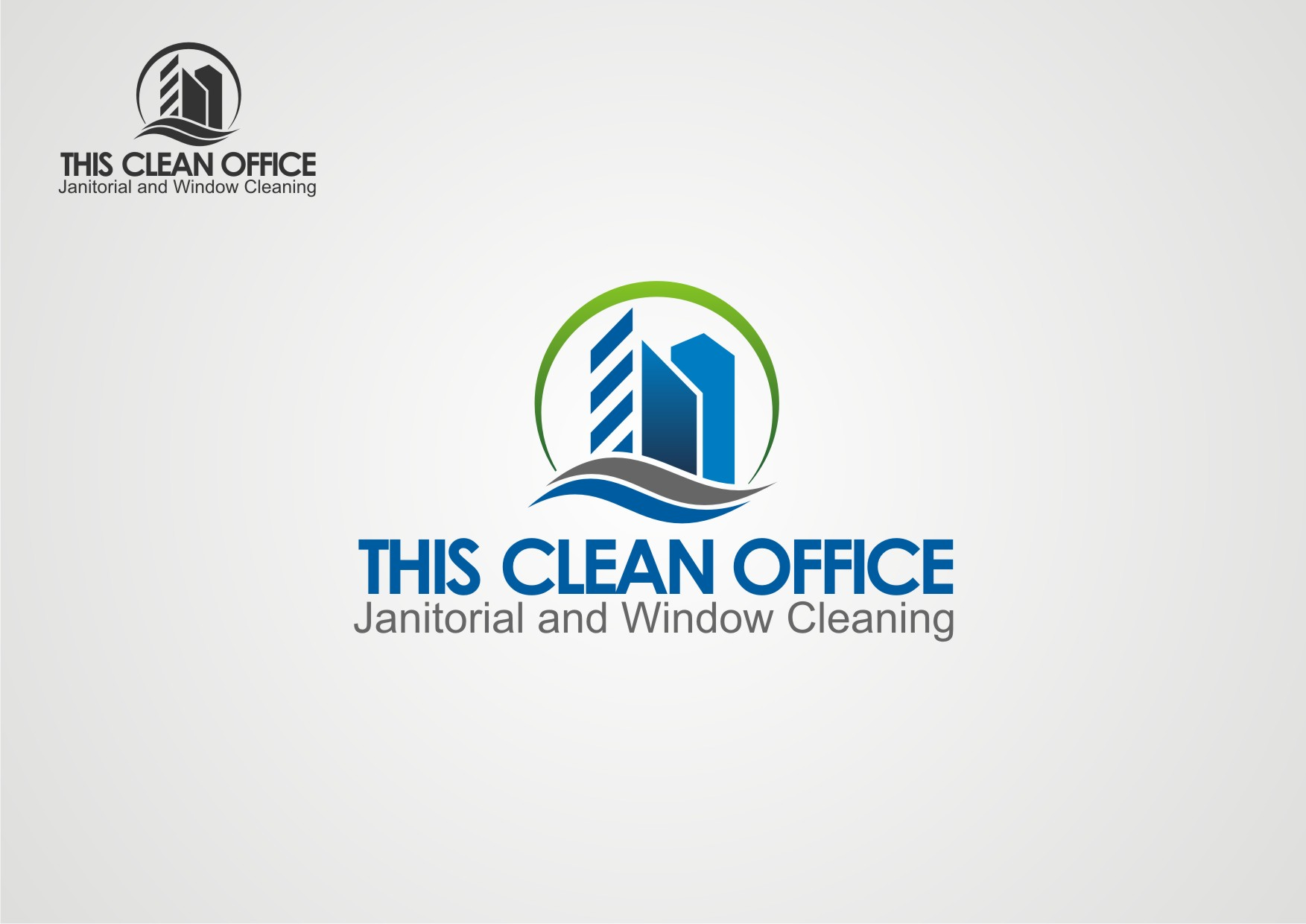 Logo Design by Private User - Entry No. 10 in the Logo Design Contest Professional and Unforgettable Logo Design for This Clean Office.