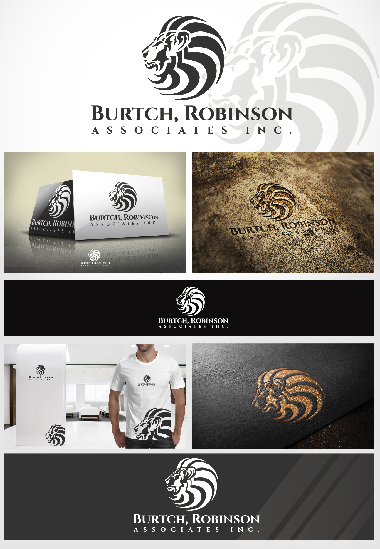 Logo Design by VENTSISLAV KOVACHEV - Entry No. 66 in the Logo Design Contest Unique Logo Design Wanted for Burtch, Robinson & Associates Inc..