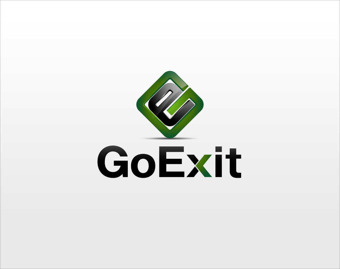 Logo Design by zoiDesign - Entry No. 229 in the Logo Design Contest GoExit Logo Design.