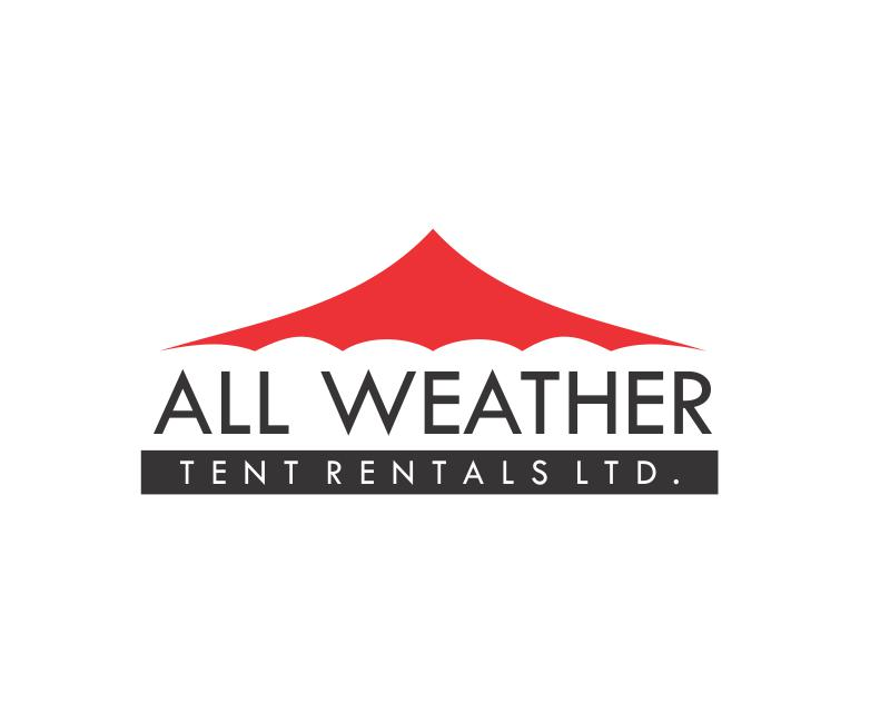 Logo Design by ronny - Entry No. 2 in the Logo Design Contest Captivating Logo Design for All Weather Tent Rentals Ltd..