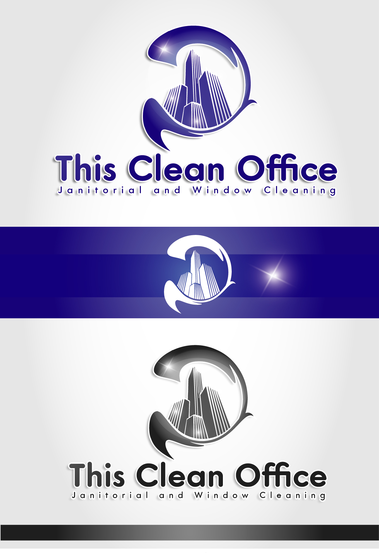 Logo Design by VENTSISLAV KOVACHEV - Entry No. 17 in the Logo Design Contest Professional and Unforgettable Logo Design for This Clean Office.