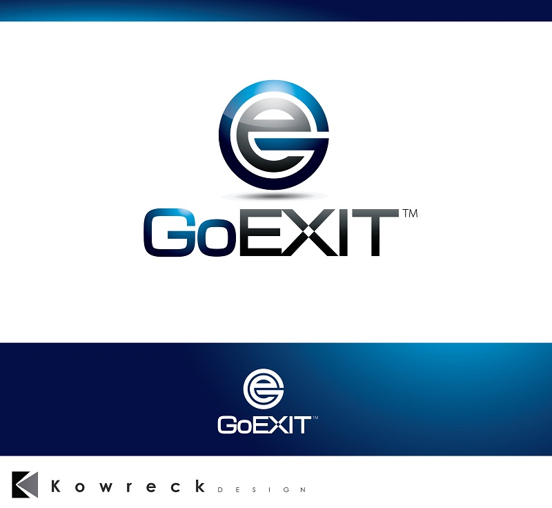 Logo Design by kowreck - Entry No. 231 in the Logo Design Contest GoExit Logo Design.