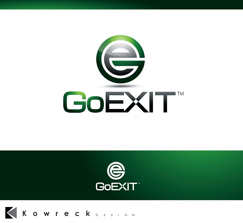 Logo Design by kowreck - Entry No. 232 in the Logo Design Contest GoExit Logo Design.