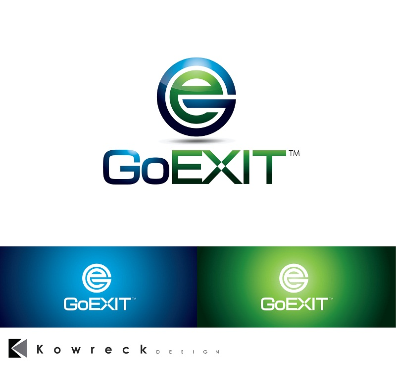 Logo Design by kowreck - Entry No. 233 in the Logo Design Contest GoExit Logo Design.