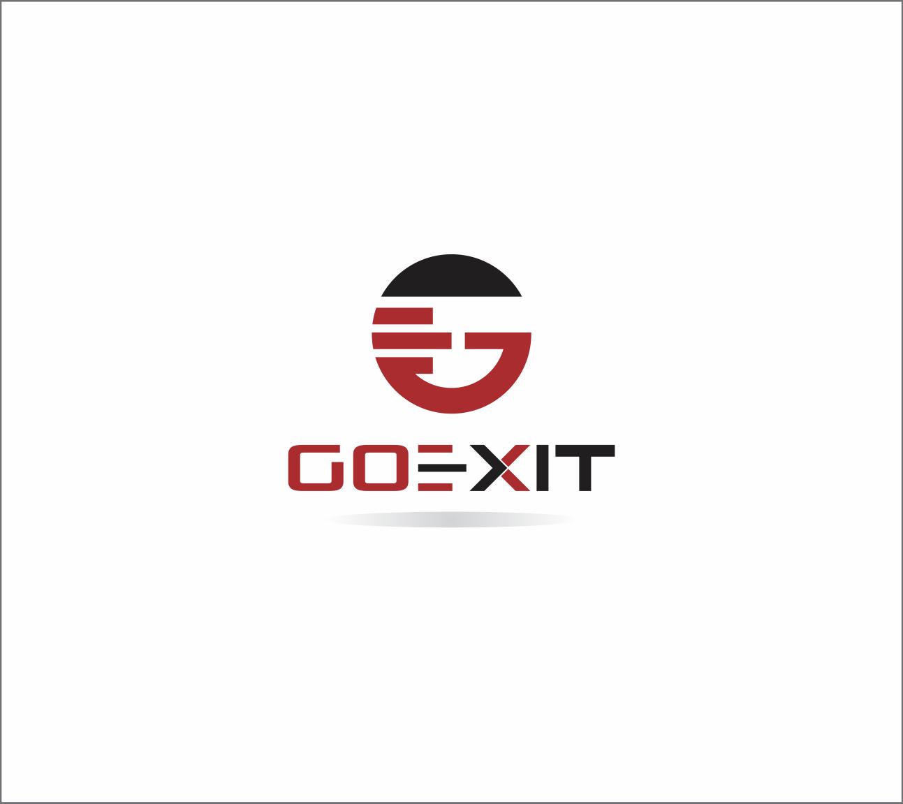 Logo Design by Armada Jamaluddin - Entry No. 236 in the Logo Design Contest GoExit Logo Design.