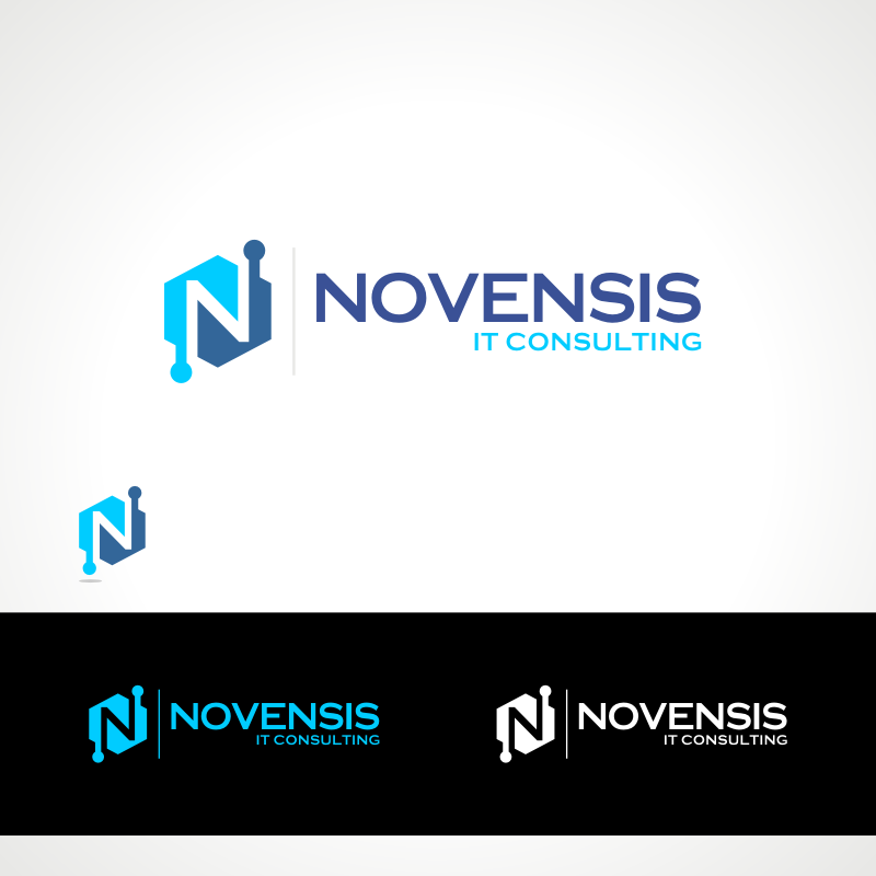 Logo Design by Private User - Entry No. 187 in the Logo Design Contest Novensis Logo Design.